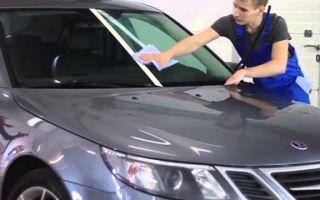 Антидождь для стекла автомобиля — нанесение, срок действия.