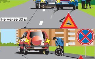 Когда нужно включать аварийку, знак «аварийная остановка»; пдд