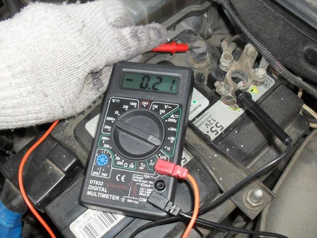 Быстро разряжается аккумулятор на машине