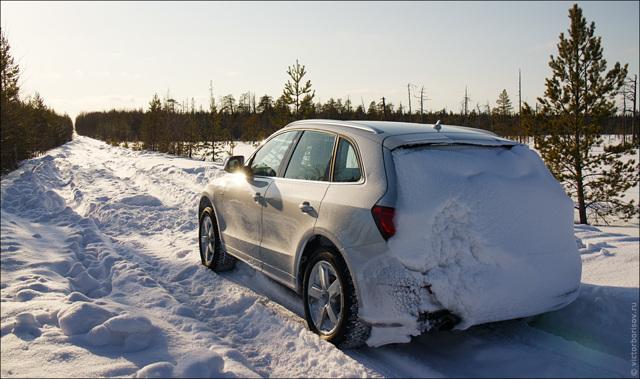 Колейность на дороге: причины, как выехать из колеи зимой