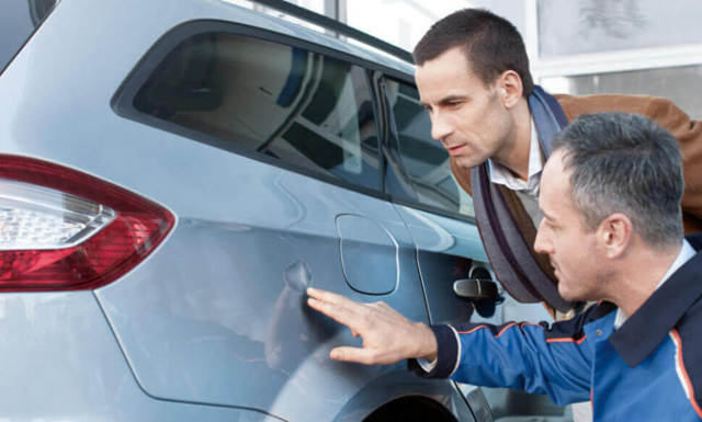 Как определить битую машину при покупке; признаки крашеного авто