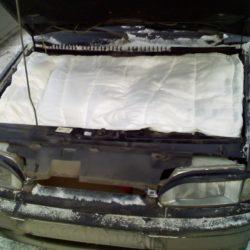 Чем утеплить двигатель автомобиля, утеплитель своими руками