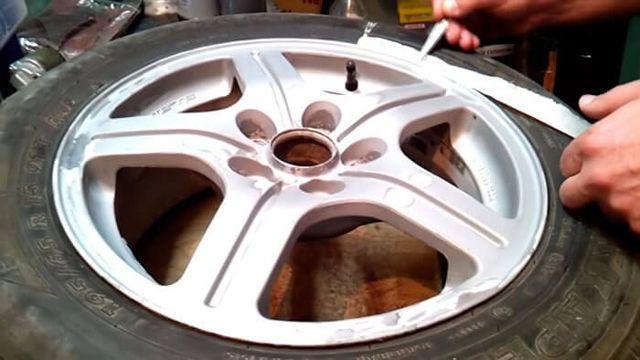 Чем покрасить диски автомобиля самостоятельно