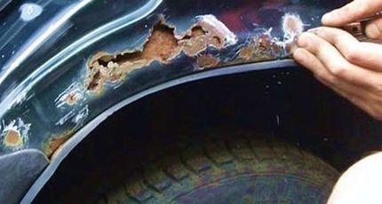 Ржавчина на авто - полное удаление коррозии на кузове
