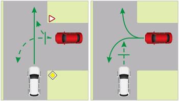 Т-образный перекресток: правила движения