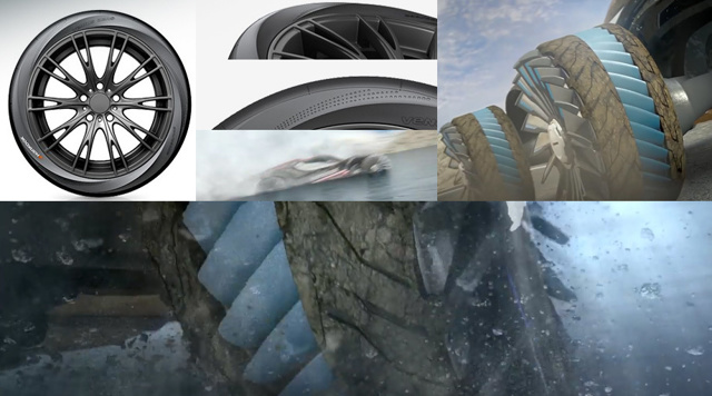 Безвоздушные шины michelen, Нankook. Когда и где можно купить