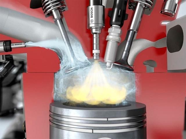 Степень сжатия двигателя, формула, повышение, бензин