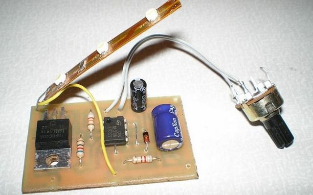 Стробоскоп для зажигания своими руками, схема для установки