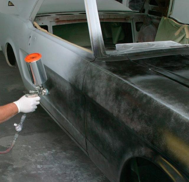 Грунтовка автомобиля своими руками, виды грунтовок