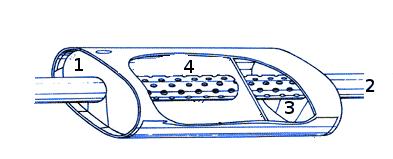 Как устроен глушитель автомобиля: конструкция, принцип работы
