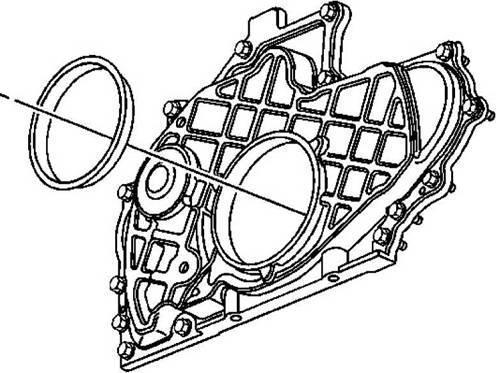 Как заменить сальник коленвала правильно (задний, передний)