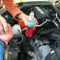 Промывка системы охлаждения двигателя: способы