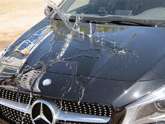 Как убрать сколы на кузове автомобиля: видео; скол капота