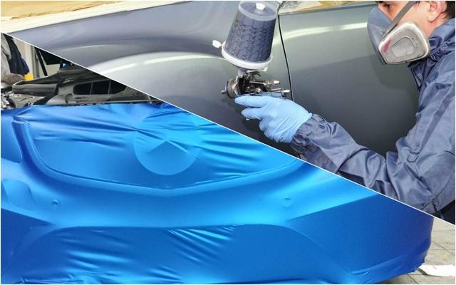 Оклейка автомобиля пленкой своими руками (видео)