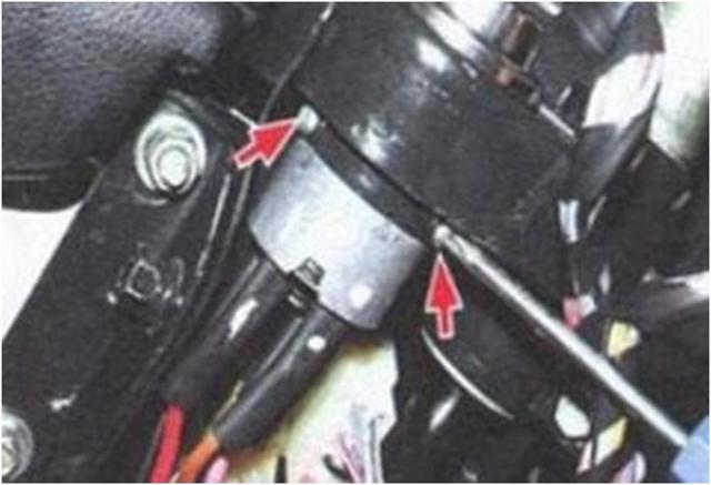 Замена замка зажигания, контактной группы, личинки (видео)