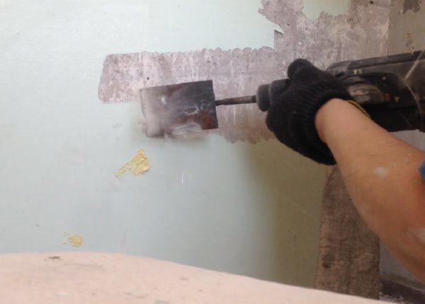 Как снять краску с металла, какой смывкой лучше удалть ЛКП