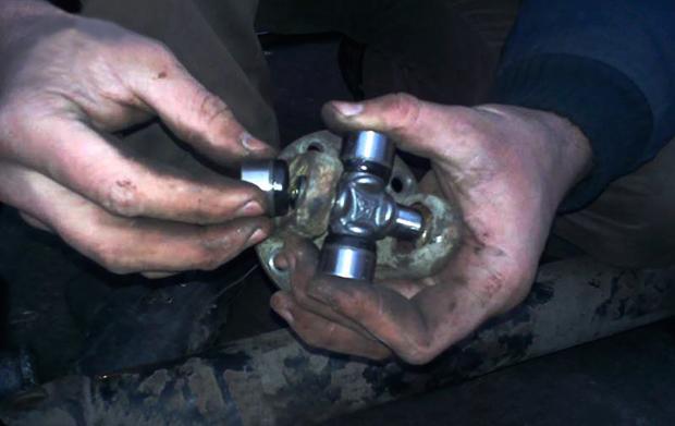 Замена крестовины карданного вала своими руками, видео