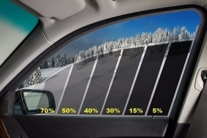 Какой пленкой можно тонировать передние стекла?