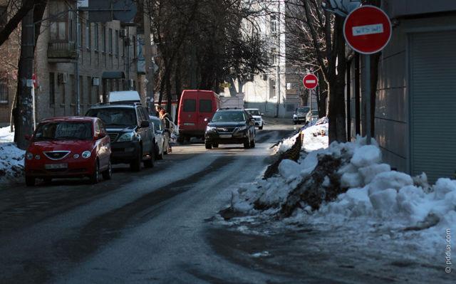 Движение задним ходом по дороге: ПДД