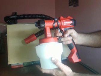 Краскопульт своими руками: как сделать из пылесоса