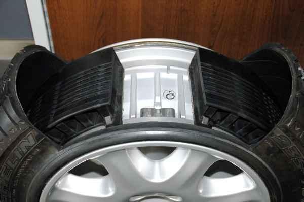 Ранфлэт шины. Как технология помогает в случае прокола.