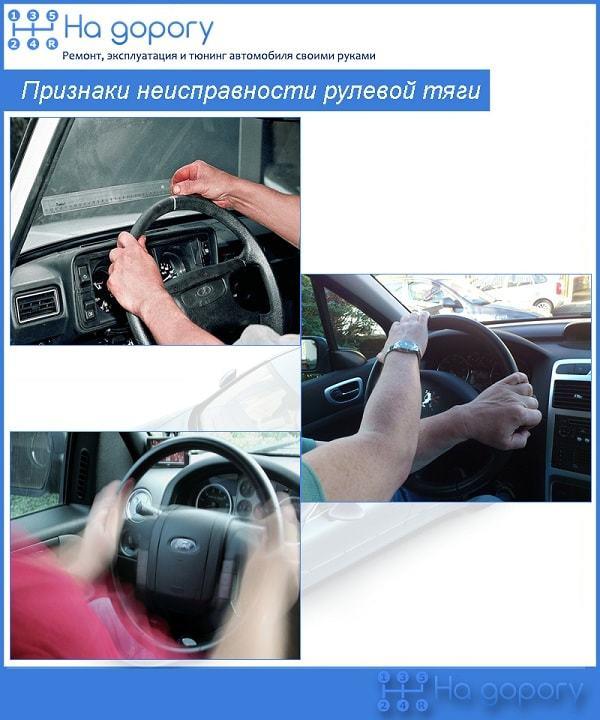 Рулевая тяга: ремонт, замена наконечников, пальцев рулевых тяг