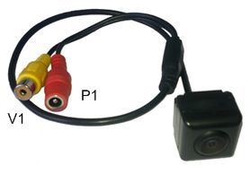 Установка камеры заднего вида своими руками, схема подключения