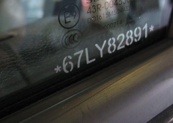 Маркировка стекол автомобилей: расшифровка