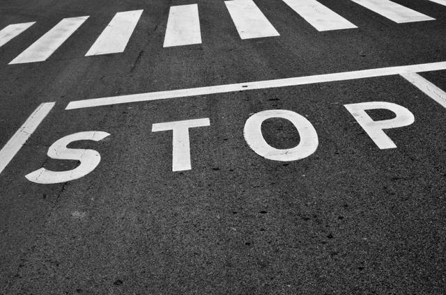 Знак Стоп, ПДД: где останавливаться, штраф, Стоп-линия