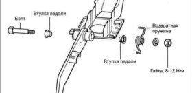 Регулировка свободного хода педали сцепления, проверка, видео