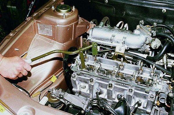 Регулировка клапанов двигателя, порядок регулировки своими руками