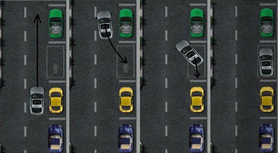 Парковка задним ходом: схема, видео, инструкция езды с прицепом