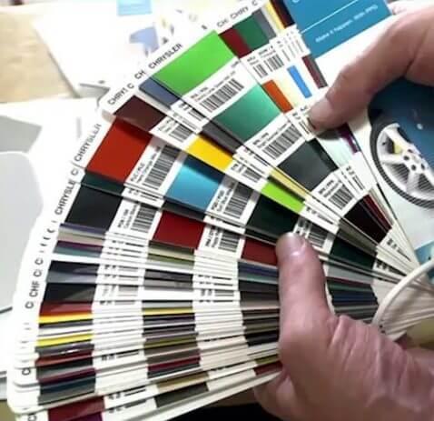 Как правильно осуществить подбор краски для авто