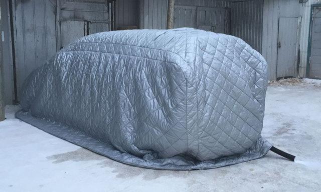 Портативный гараж для автомобиля: цена, виды, переносной