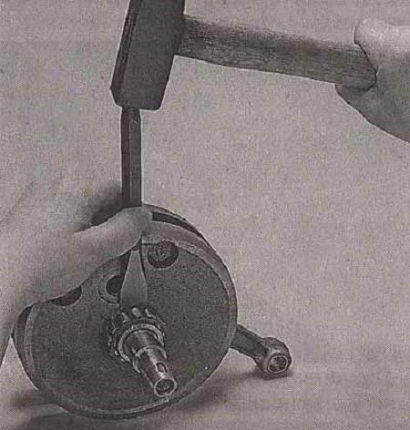 Замена подшипника коленвала. Как поменять подшипник коленчатого вала (как снять передний, задний, игольчатый)