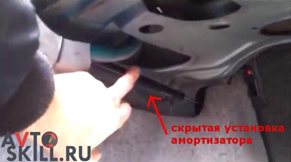 Амортизатор крышки багажника: какой лучше купить, замена