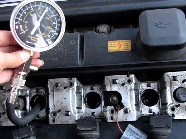 Какая компрессия должна быть в двигателе, замер компрессии