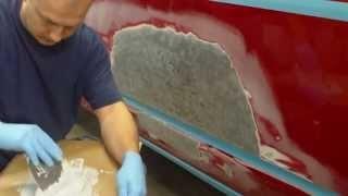 Шпаклевка авто своими руками (видео), виды шпатлевок