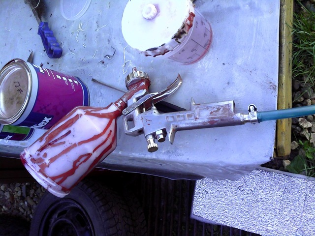 Компрессор для покраски автомобиля, продувки, подкачки колес.